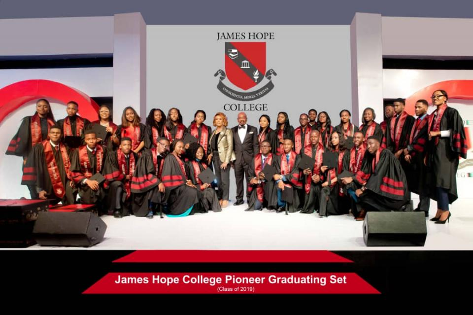 James Hope College Graduation